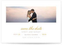 Neapolitan Save The Date Cards
