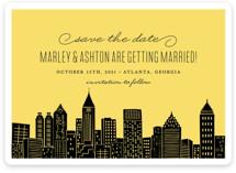 Big City - Atlanta Save The Date Cards