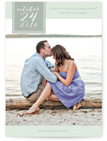 Effortless Love Save The Date Cards