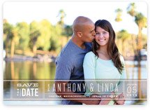 Silver Screen Save The Date Cards