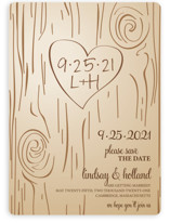 Fall Carving Save the Date Cards