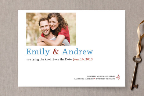 City Save The Date Cards