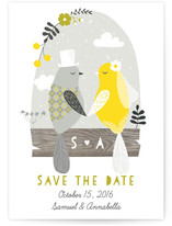 Birdy Love Save the Date Cards