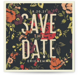 Vintage Blooms Save the Date...