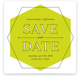 Electric Save the Date Cards