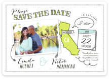Write It In Ink Save The Date Cards