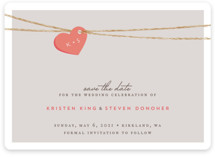 Tangled Love Save The Date Cards