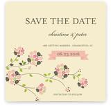 Petite Fleur Save The Date Cards