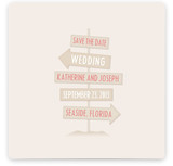 Seaside Save The Date Cards