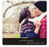 Modern Stripes Save the Date Cards