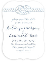 Charmed Knot Save The Date Cards