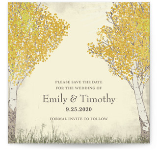Fall Tranquility Save the Date...