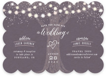 Garden Lights Save The Date Cards