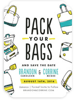 Pack Your Bags Save the Date Cards