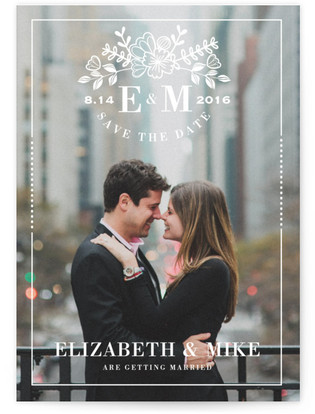 Floral Simplicity Save the Date...