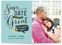 Limerick Save The Date Cards