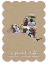 New York Love Location Save The Date Cards