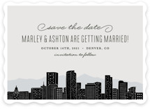 Big City- Denver Save the Date Cards