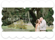 Stitched Save The Date Cards