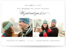 All We Need Is You Save The Date Cards