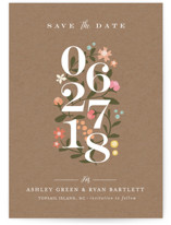 Climbing Roses Save the Date Cards