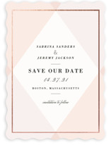 Creme Brulee Save The Date Cards