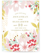 Garden Festival Save the Date Cards