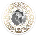 Gatsby Style Save the Date Cards