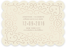Geo Doodles Save The Date Cards