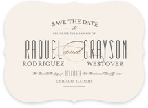 Hyde Park Save The Date Cards