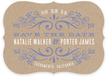 Name Plate Save The Date Cards
