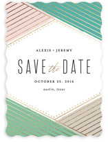 Overlap Save the Date Cards