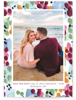 Garden Frame Grand Save The Date Cards