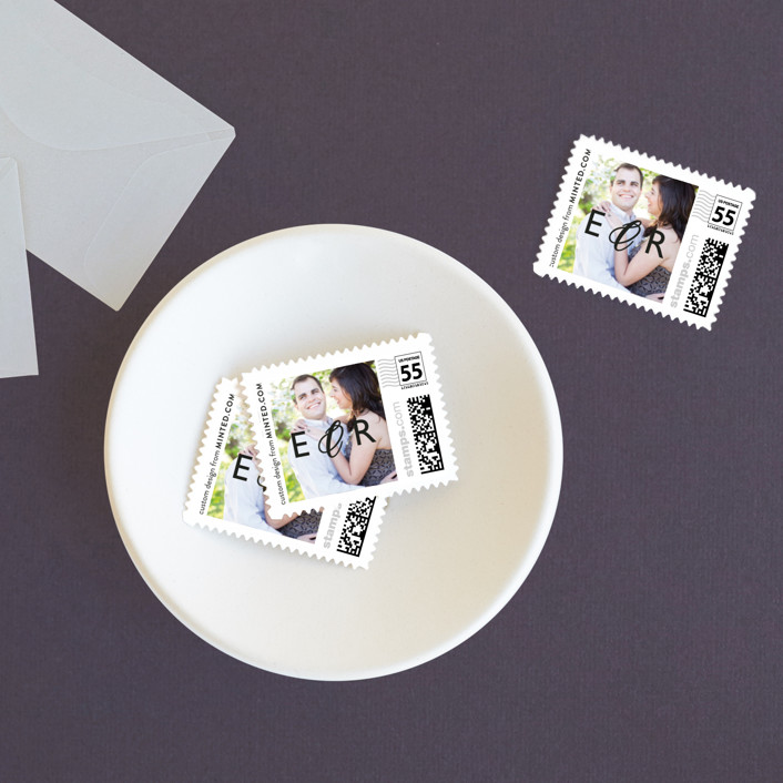 """""""Moments Captured"""" - Simple Wedding Stamps in Ivory by Carrie Eckert."""