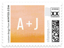 Ombre Wedding Stamps
