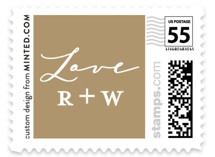 The Crown Wedding Stamps