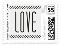 Twine Wedding Stamps