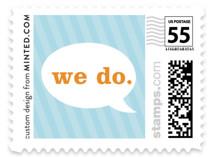 Smart Conversation Wedding Stamps