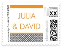 Minimalist Display Wedding Stamps