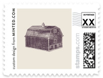 The Barn Wedding Stamps