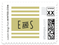Ascot Chic Wedding Stamps