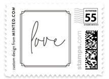 Traditional Twist Wedding Stamps