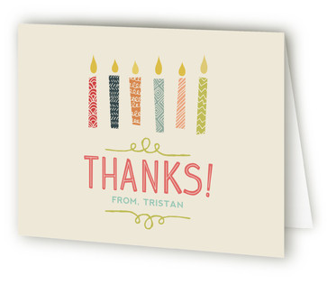 Sixteen Candles Sweet Sixteen Party Thank You Cards