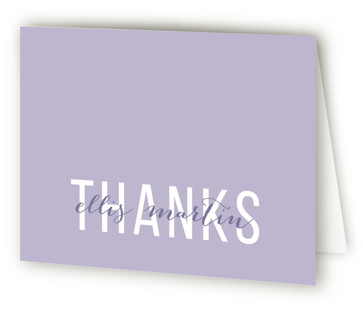 Sweet Teen Sweet Sixteen Party Thank You Cards