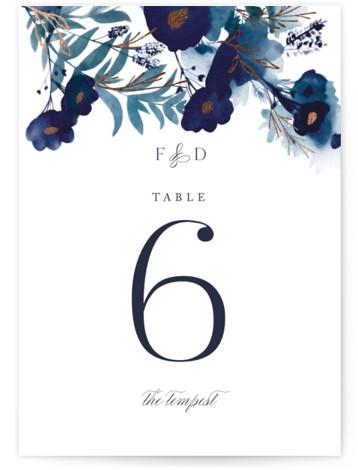 Splendid Ink Foil-Pressed Table Numbers