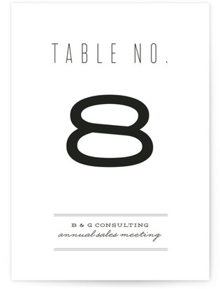Mixed Type Table Numbers