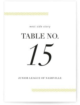Sidewalk Table Numbers