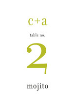 float + celebrate Table Numbers
