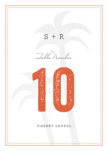 Passport Table Numbers