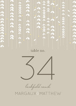 WILLOW TREE Table Numbers